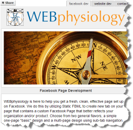 WEBphysiology Facebook Page