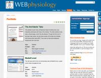 WEBphysiology Portfolio
