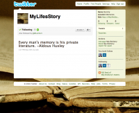 My Life's Story – Twitter